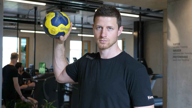 Handballer Martin Strobel (Foto: SWR)