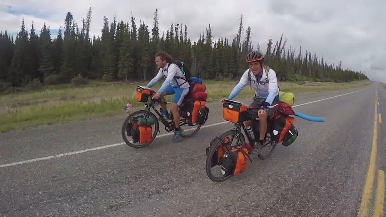 Zwei Fahrradfahrer. (Foto: SWR)