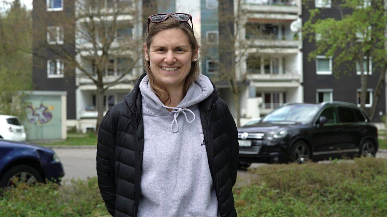 Marina arbeitet in Ulm als Streetworkerin