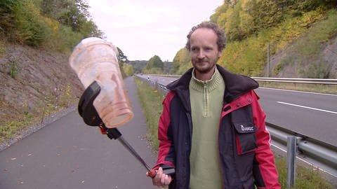Edwin Hess aus Bitzen im Westerwald leidet an Depressionen (Foto: SWR)