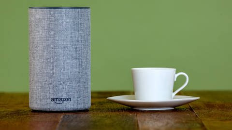Amazon Echo ist ein Sprachassistent (Foto: picture-alliance / dpa)