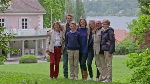Die Familie von Bodman aus Bodman (Foto: SWR)