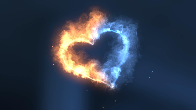 SWR Schlager: Feuerherz in blau und gelb
