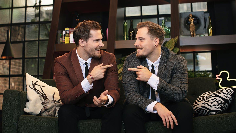 Die Zwillinge Dennis und Benjamin