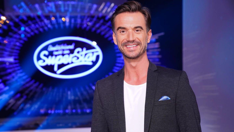 Jurymitglied Florian Silbereisen in der 2. Liveshow der 17. Staffel der RTL-Castingshow 'Deutschland sucht den Superstar.