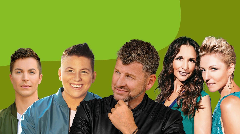 SWR4 Schlagerfest mit Kerstin Ott, Semino Rossi, Geschwister Hofmann