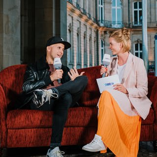 Milow im Interview (Foto: SWR, Ronny Zimmermann)