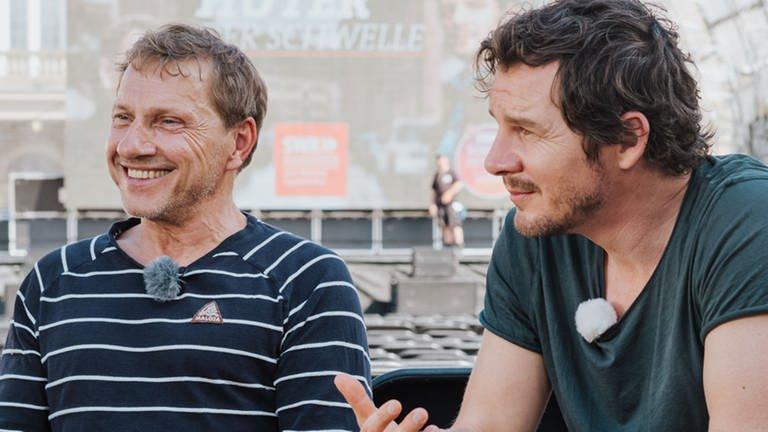 v.l.: Richy Müller, Felix Klare (Foto: SWR)