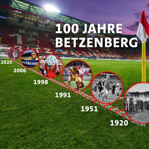Fritz-Walter-Stadion (Foto: Imago, picture-alliance / Reportdienste, Collage)