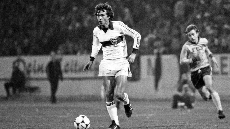 VfB-Spieler Karl Allgöwer 1980 (Foto: Imago, Sportfoto Rudel)
