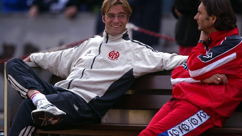Jürgen Klopp zu Beginn seiner Trainerkarriere 2001 (Foto: Imago, Imago / Werek)