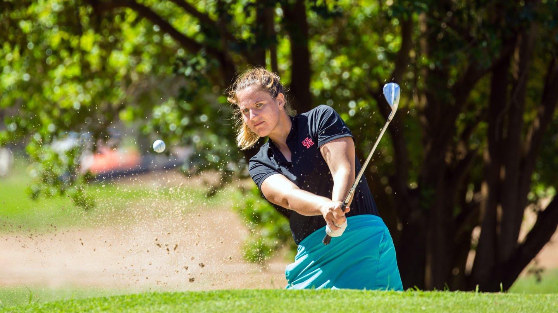 Profi-Golferin Leonie Harm aus Stuttgart (Foto: dpa Bildfunk, Tristan Jones)