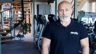 Fitnessstudio-Betreiber Alexandros Stampoulidis (Foto: SWR)