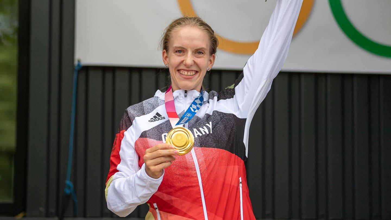 Olympiasiegerin Franziska Brauße: Auf dem Weg zu WM-Gold?