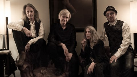 Patti Smith and her band (Foto: Steven Sebring)