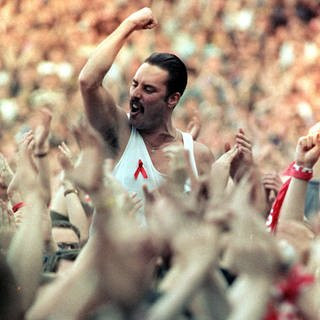 Freddie Mercury (Foto: picture-alliance / Reportdienste, Empics Neil Munns)
