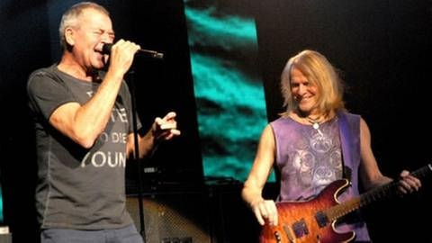 Deep Purple und Peter Frampton am 2. November in Mannheim (Foto: SWR, SWR1 - Foto: Willi Kuper)