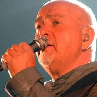 Peter Gabriel am 30. September 2010 in Mannheim (Foto: SWR, SWR - Foto: Willi Kuper)