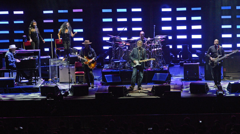 Eric Clapton am 8.6.2019 in der SAP Arena in Mannheim