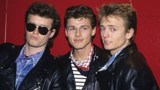 Die norwegische Band a-ha (1988) (Foto: Imago, imago images / Future Image)