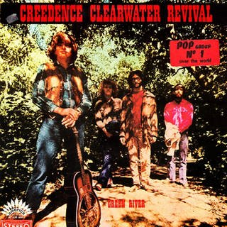 "Creedence Clearwater Revival: ""Green River"" Cover (Foto: Fantasy Records)"