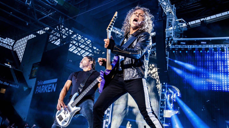 Metallica live auf der Bühne (Foto: picture-alliance / Reportdienste, picture alliance / Photoshot)