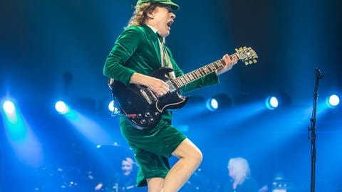Angus Young (Foto: picture-alliance / Reportdienste, Marc Nader)
