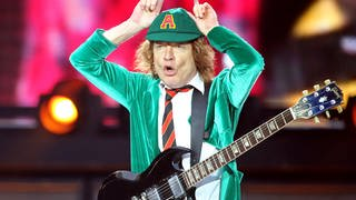 Angus Young (Foto: picture-alliance / Reportdienste, Jan Woitas)