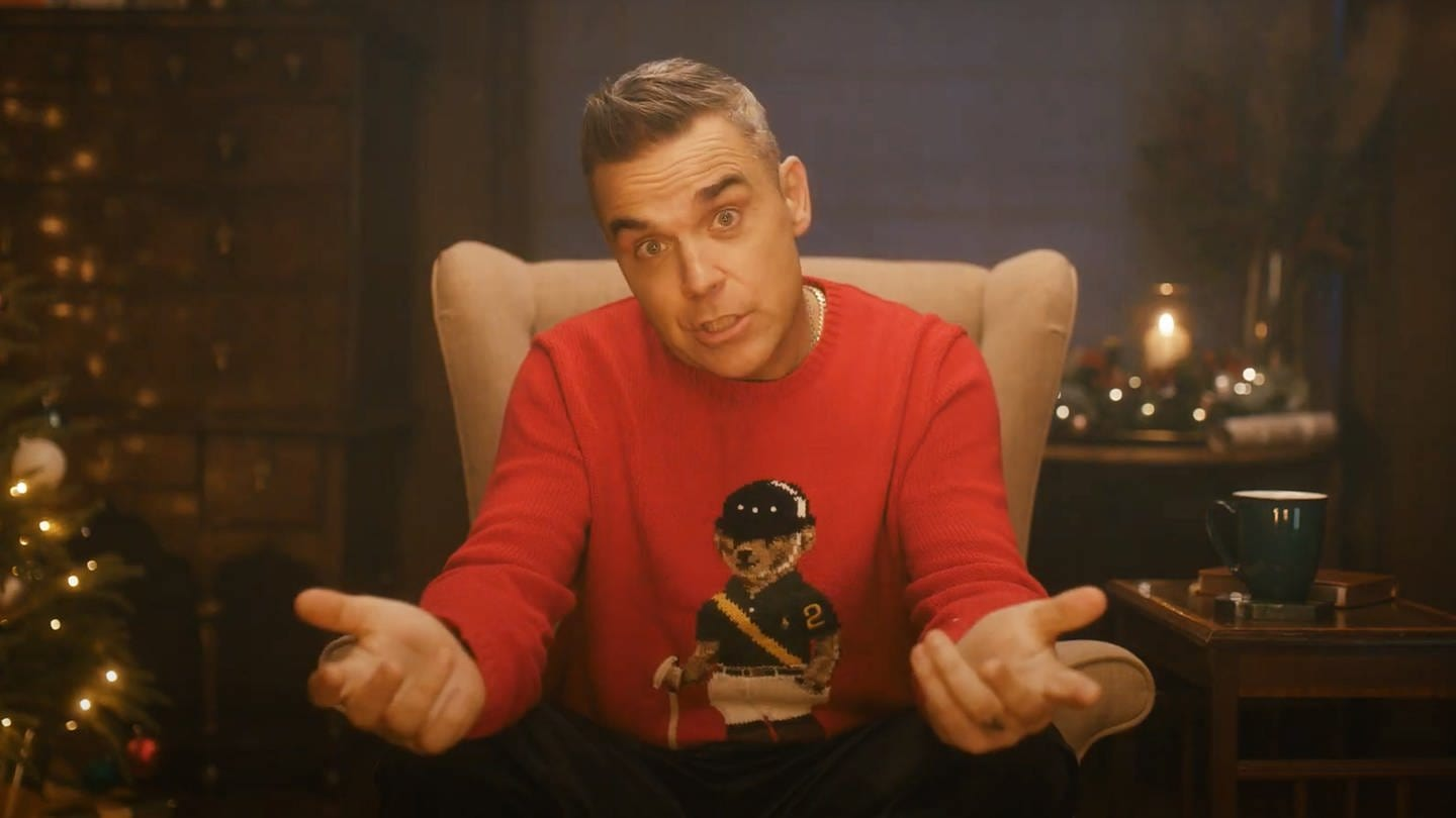 Robbie Williams (Foto: Screenshot: youtube.com (www.robbiewilliams.com))
