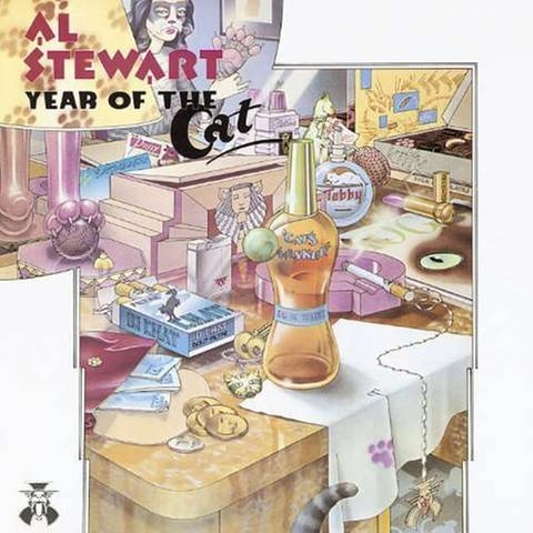 "Cover ""Year of the Cat"" von Al Stewart (Foto: RCA Records)"