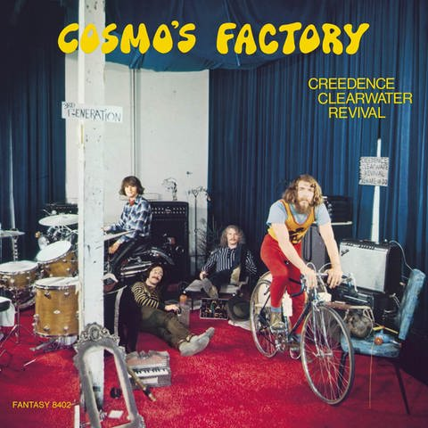 Creedence Clearwater Revival - Cosmos Factory (Foto: SWR)