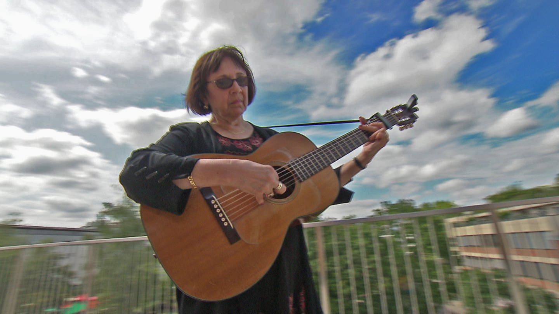 20 July 2019, Baden Wuerttemberg, Karlsruhe: The musician