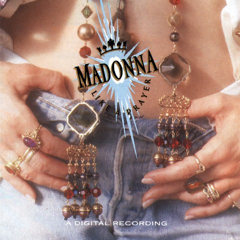 "Madonna - ""Like A Prayer"" Coverbild (Foto: SWR)"