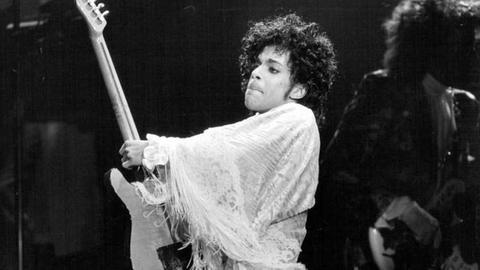 Prince 1984 (Foto: picture-alliance / dpa, picture-alliance / dpa - Foto: David Brewster)