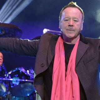 Simple Minds in Stuttgart am 23. Februar 2015 (Foto: SWR, SWR1 - Foto: Willi Kuper)