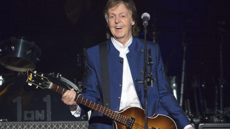 Paul McCartney auf der Bühne in Tampa (Foto: picture-alliance / Reportdienste, Scott Audette)