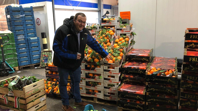 Großmarkthändler Andreas Frey aus Karlsruhe (Foto: SWR)