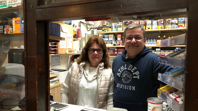 Kioskbesitzer Ehepaar Schlipf (Foto: SWR)