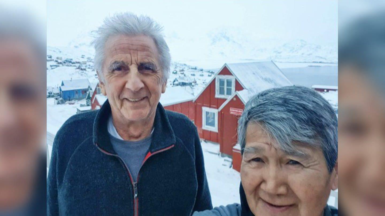 Viggo Mikaelsen und Robert Peroni in ihrer Heimat Grönland