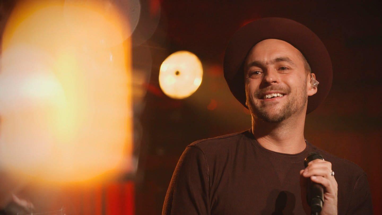 Sänger Max Mutzke bei der Sendung