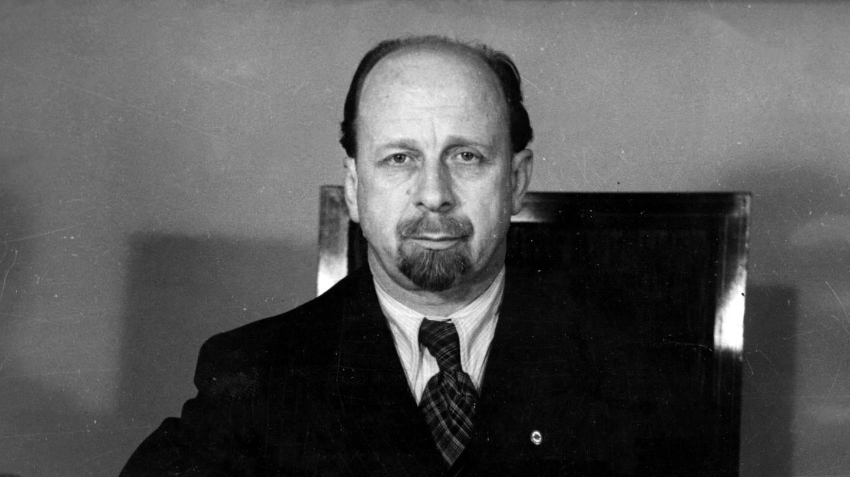 Porträt von Walter Ulrbicht, stellvertretender Ministerpräsident und Vorsitzender der SED (Foto: SWR, picture alliance / Keystone   Röhnert)