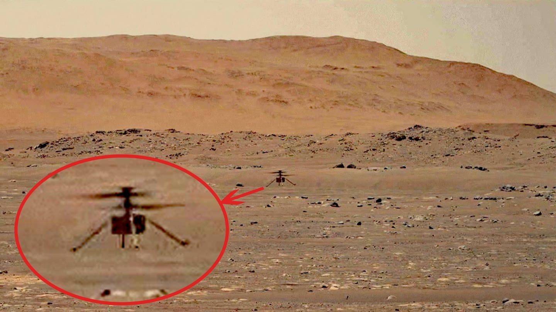 Der Mars-Helikopter