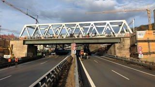 Brücke über die A8 bei Pforzheim (Foto: Autobahn GmbH Niederlassung Südwest)