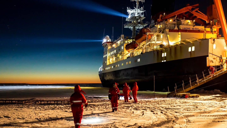 Forschungsschiff Polarstern (Foto: Alfred-Wegener-Institut/Stefan Hendricks)