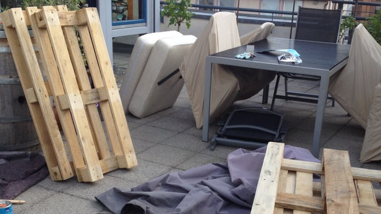 do-it-yourself Terrassenmoebel (Foto: SWR)