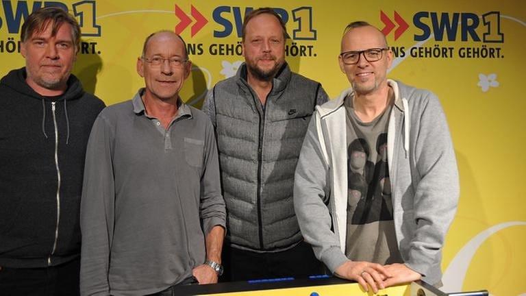 Stefan Siller und die Fanta 4 (Foto: SWR, SWR1 - Foto: Gabriele Weigt)