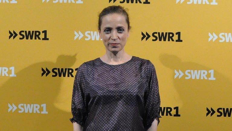 Anna Thalbach, SWR1 Leute Voraufnahme am 5.6.2019