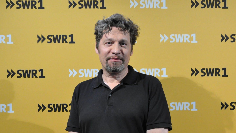 Benjamin Völz, Synchrospecher, zu Gast bei SWR1 Leute mit Nicole Köster