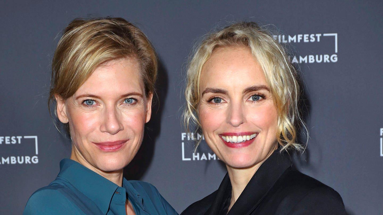 Ina Weisse und Nina Hoss bei der Premiere des Kinofilms Das Vorspiel auf dem 27. Filmfest Hamburg 2019 im Abaton. Hamburg (Foto: Imago, Foto:xgbrcix/xFuturexImage)