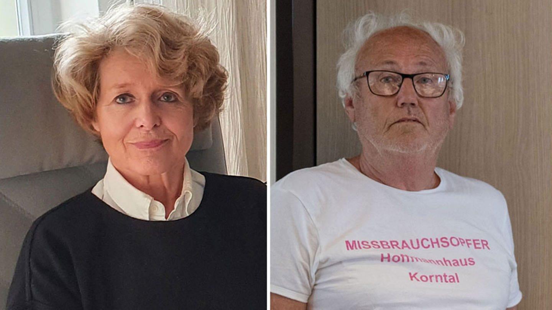 Dr. Brigitte Baums-Stammberger und Werner Hoeckh arbeiten an der Aufklärung der Missbrauchsfälle in Korntal.
